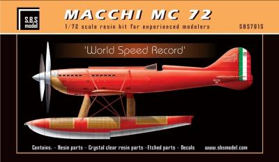 Macchi MC 72 'World Speed Record' készlet