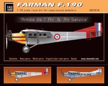 Farman F.190 'Armée de l'Air & Air Service'