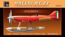 Macchi MC 72 'Early Version' készlet